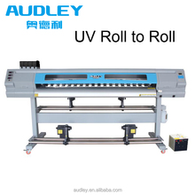 High resolution uv inkjet printer single dx5 head roll to roll uv led printer 1.8m uv printing machine