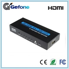 5 Port V1.3 HDMI switch 5X1 with IR remote control support 1080p and Full 3D