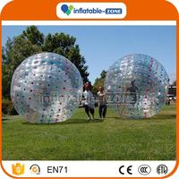 Factory Supply inflatable bumper ball body ball body bounce grass ball grass team sport body football bubble