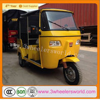 China Supplier Newest Design Tricycle Passenger Motorcycle /CNG Three Wheel Scooter /Bajaj Tricycle Manufacturers India