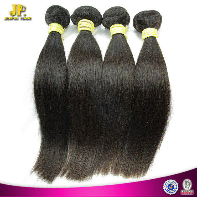 JP Hair Long Keeping 18 Inch Indian Remy Hair Extensions Straight Double Weft