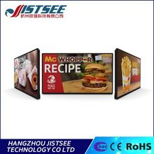 customized logo 50000h life fast food slim 32 inch fhd 1080p lcd tv led tv