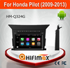 HIFIMAX Android 7.1 Car Radio GPS For Honda Pilot 2009-2013 WITH Capacitive screen 1080P 16GB WIFI 3G INTERNET DVR