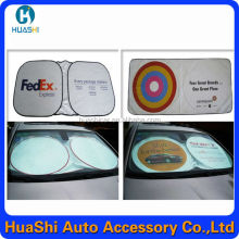 Factory direct tyvek car sunshade with printing