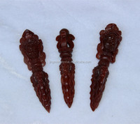 red natural Crystal Quartz Phurba Dorje Vajra Healing products