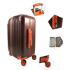 "Carry-On 20""/24""/28"" Inch Travel Zipper Trolley Luggage Case"