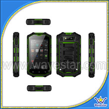 4inch Rugged 3G Call Bar Waterproof Shockproof Dustproof Android 3G Mobile Phone Made in China