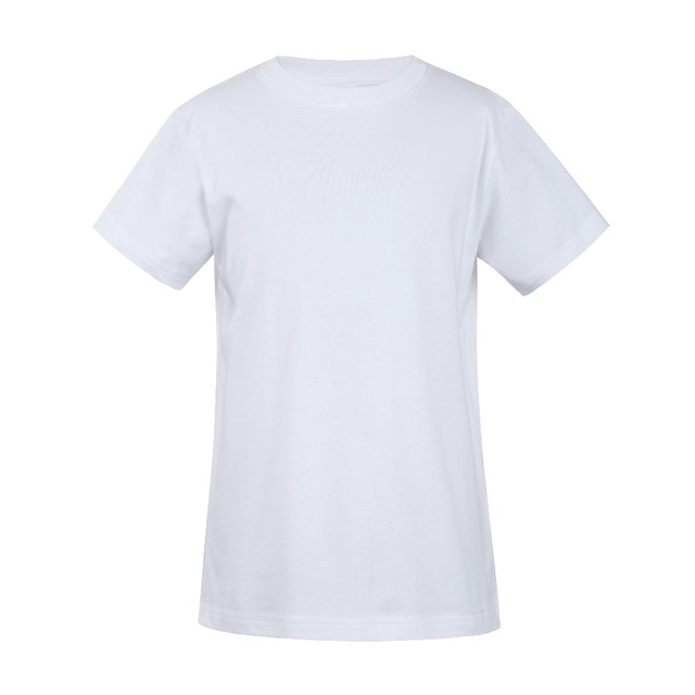 Best Quality Tshirt Custom Logo Printed Combed Cotton kids t-shirt for sublimation