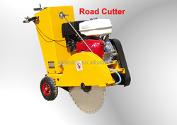 Concrete Groove Cutter, Walk Behind Concrete Road Cutter, Asphalt Road Cutter Saw Machine