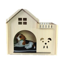 Customed wooden dog houses for large dogs for sale