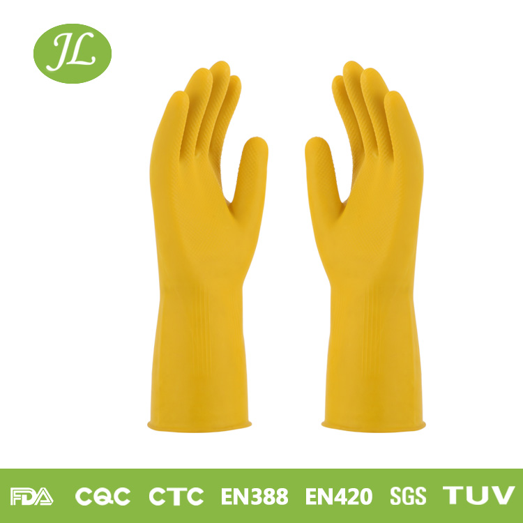 Environment-friendly safeguard pvc dotted gloves for handicap