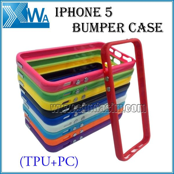 TPU+PC bumper for iphone5