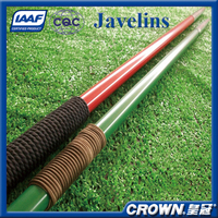 IAAF Certification track & field sports goods javelin training, competition javelin, Aluminum Alloy javelin