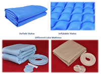 Alternating pressure medical pvc pads nursing care bubble inflatable rubber air mattress
