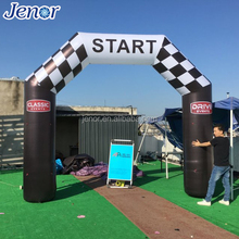Customized Inflatable Advertising Start Archway Finish Line Arch for Sports Entrance