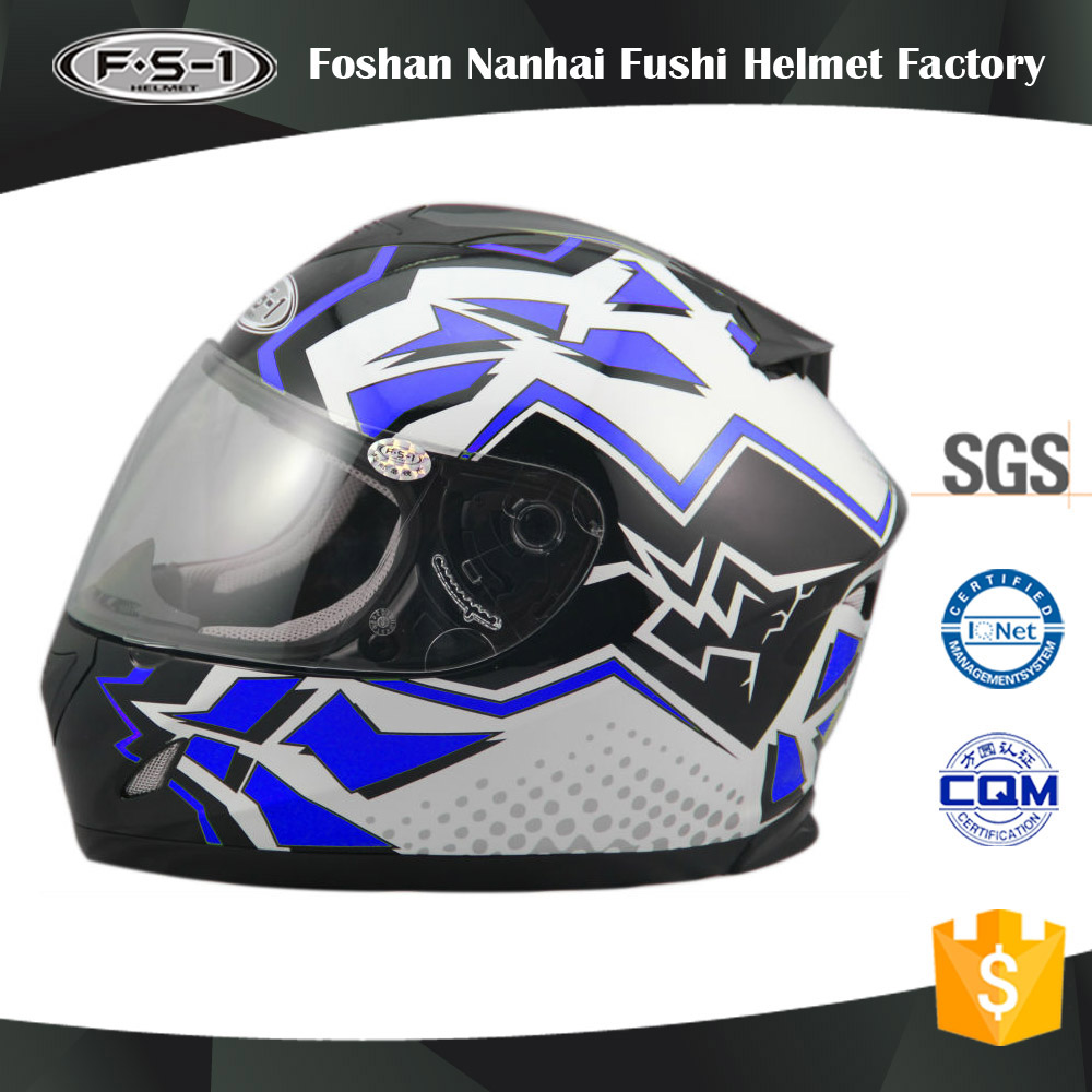 New style ECE homologated full face shoei motorcycle helmet china