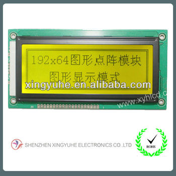 192x64 graphic lcd panel for sale
