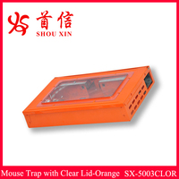 Natural mouse trap& rat trap&mice trap box rodent cage pest control products SX-5003CLOR