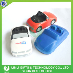 Oem Logo Promotional Gift Car Shape PU Stress Ball