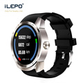 3G watch smart support IPS screen 4.1 android system with BT 4.0 Heart rate nomitor smart watch sim iLepo watch