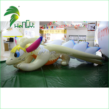 Hot Selling Best Quality Inflatable Cartoon Dragon Shape / Latest Lovely Gaint Inflatable Dragon For Advertising Or Promotion