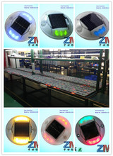 CE/RoHS approved Colorful led flashing road stud reflectors