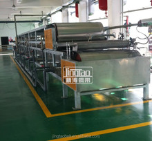 Stainless steel belt flaker for ployester, epoxy, ink, phenolic resin