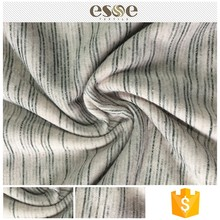 Esse Textile knitted T/R fabric burnout fabric for garment