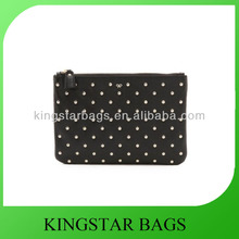 Fashional leather makeup pouch