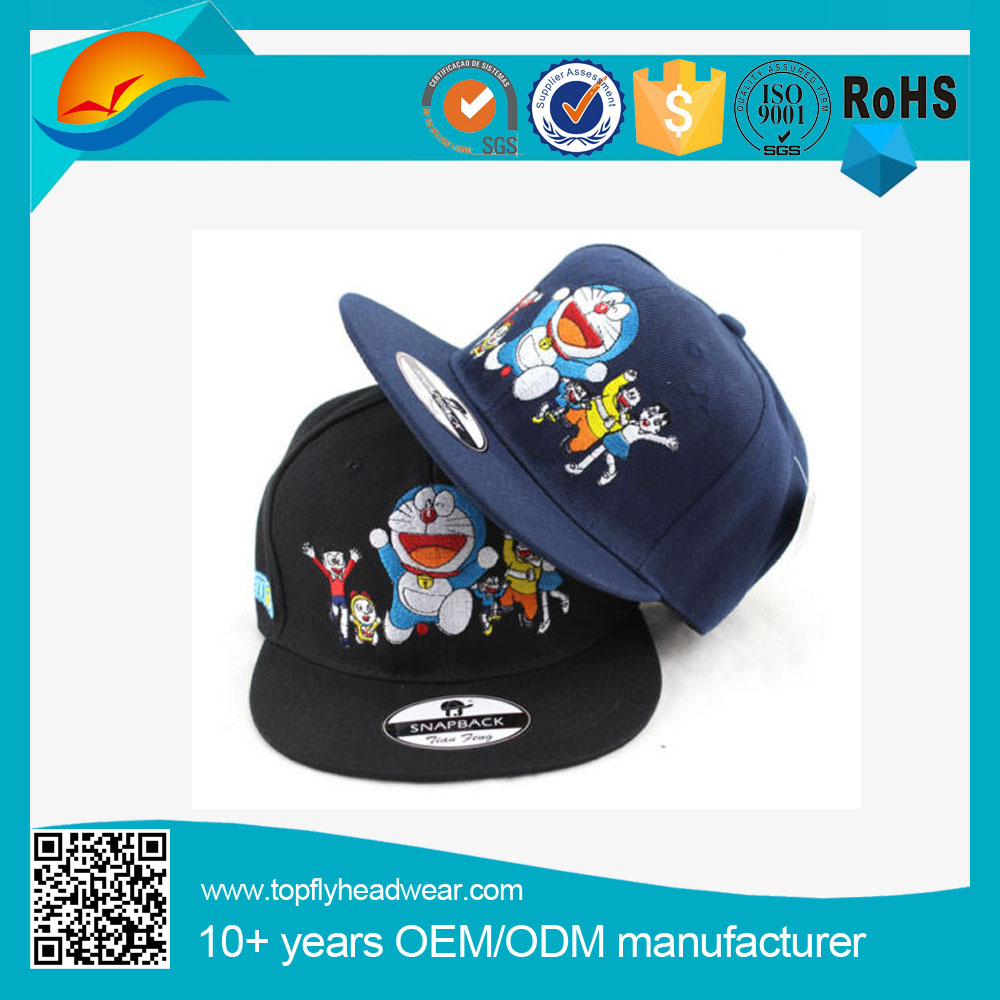 Mens Snapback Hats Doraemon Baseball Caps Adjustable Hip Hop Hats