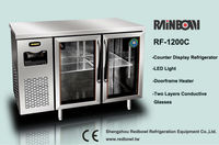 Commercial undercounter display cooler/refrigerator