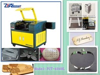 3d CO2 laser engraving cutting machine for crafts manufacturing and advertising decoration