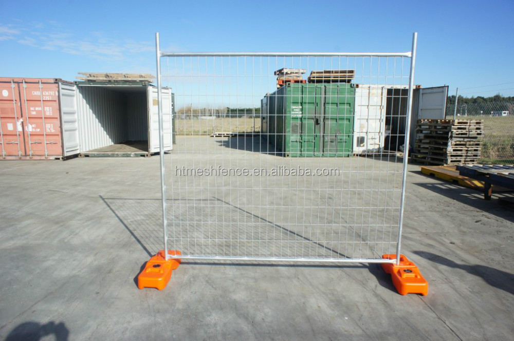 New Zealand market 2100*2400 mm galvanized temporary fence panel