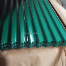 Prepainted corrugated galvanized steel sheet, color coated metal roofing sheet in corrrugated