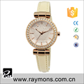 Apricot color good quality vogue lady wrist watches