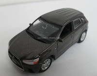 Custom 1 43 scale mitsubishi zinc alloy diecasting model toy car made with reasonable price