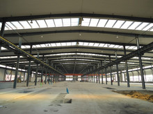 low cost prefab factory steel structure workshop building for saling