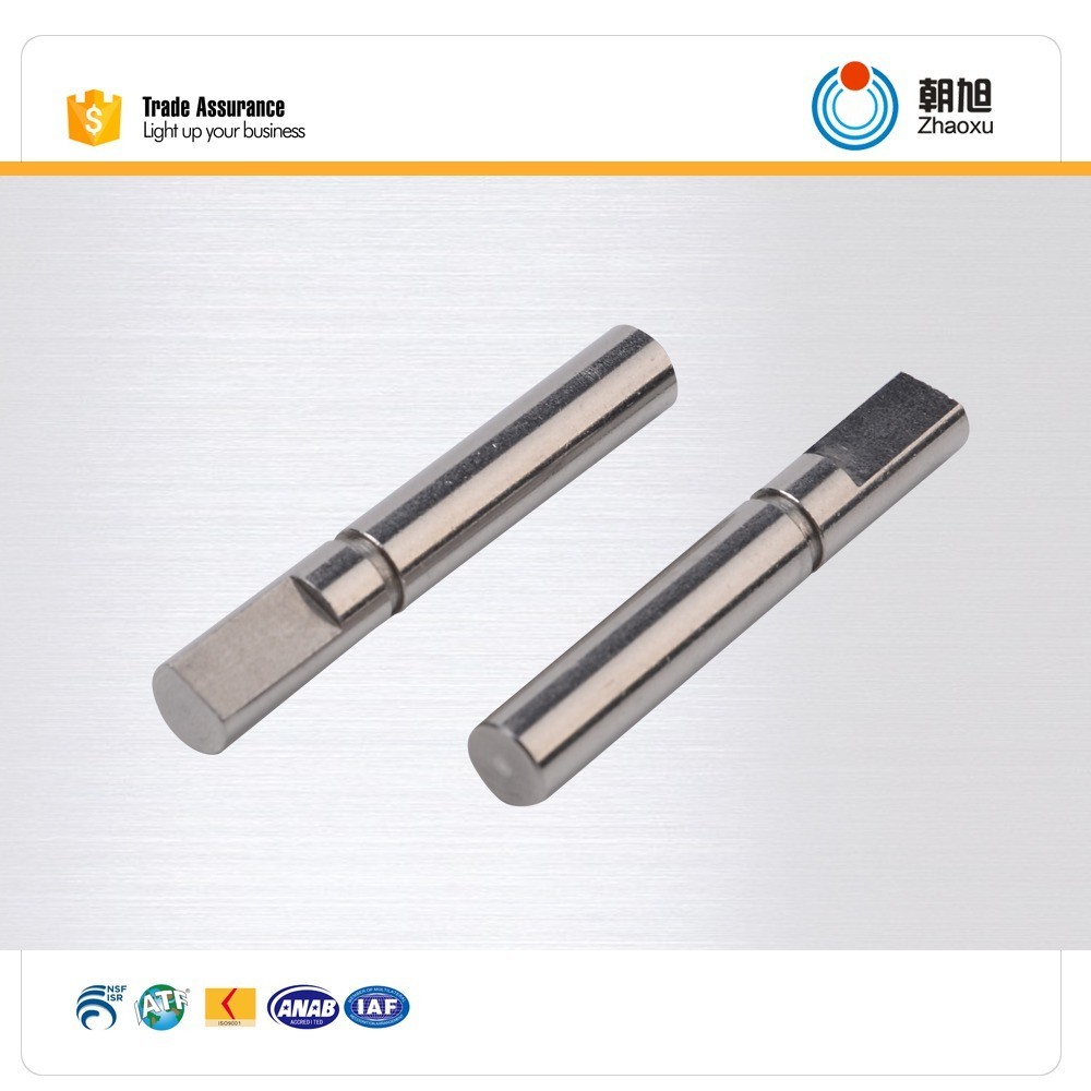 China supplier free samples CNC machining mild steel shaft for car and motorcycle
