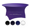 table cover table decoration/purple table decorations covers/spandex christmas table decoration covers