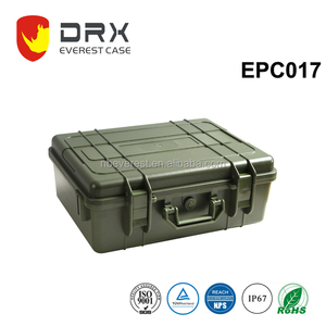 RoHS,REACH ABS ip68 Airtight army green government use o ring waterproof plastic case for electronic equipment