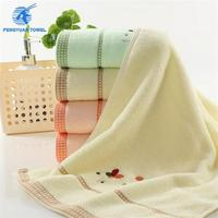 top quality 100 cotton customized hotel embroidery white bath towel hand towel wholesale factory sales