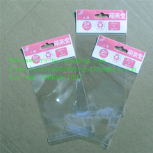 Transparent custom printing opp self-stick plastic bag