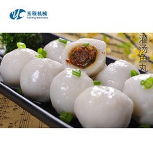The intelligent fish meat balls forming machinery