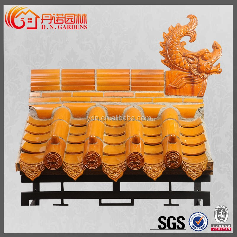 Chinese Newly Classical Stone Coated Metal Roof Tile
