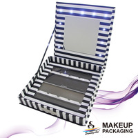 Customized LED lights makeup palette for makeup packaging with LED lights