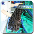 unprocessed 24 inch brazilian remy curly human hair extensions