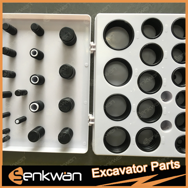 for PC60 PC100 PC200 Series Excavator <strong>O</strong>-Ring Kit Box