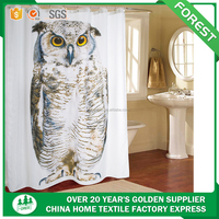 3d printed chinese supplier home good wholesale bathroom shower curtain
