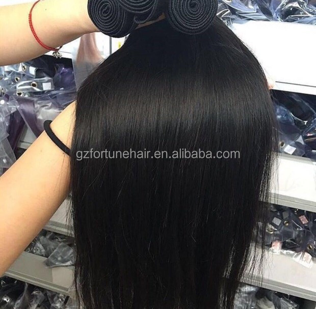Wholesale Makeup Factory Clean and No Smell Brazilian <strong>Hair</strong> Bundles Unprocessed Virgin Remy Silky Straight 10A Grade <strong>Hair</strong>