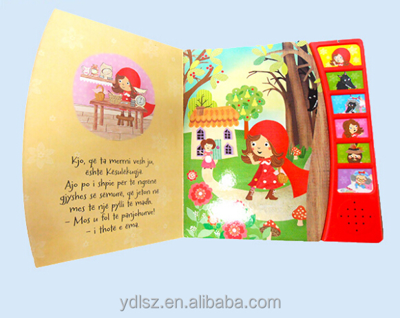 Children Learning Story Book Recordable Audio Book